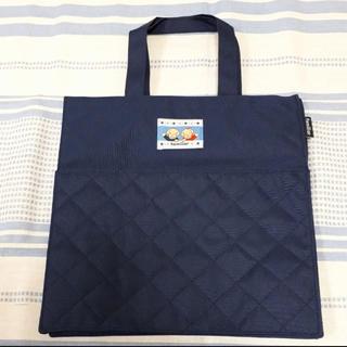 ファミリア(familiar)のファミリア 紺色トートバッグ 新品未使用(マザーズバッグ)