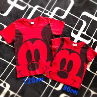 西松屋 - 西松屋 Disney ミッキーTシャツ 2枚セット