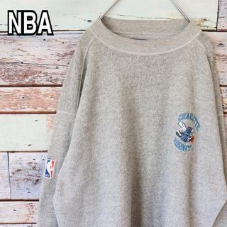 スターター NBA 90s オーバーサイズ 刺繍 トレーナー スウェット M(スウェット)