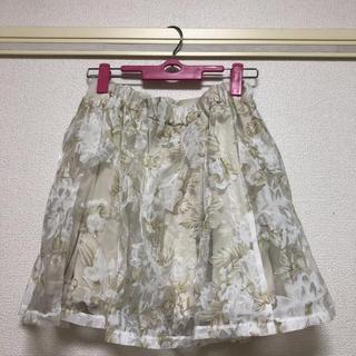 マジェスティックレゴン(MAJESTIC LEGON)のマジェスティックレゴン 花柄 スカート (ミニスカート)