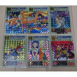 スクウェアエニックス(SQUARE ENIX)のドラゴンクエスト5 カードダス 2弾 キラ コンプ ドラクエ ユアストーリー(カード)