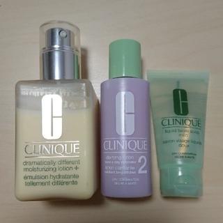 CLINIQUE - クリニーク CLINIQUE 化粧水 乳液 洗顔