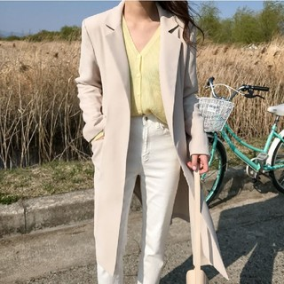 ディーホリック(dholic)の【3color】スプリングコート ロングジャケット(スプリングコート)