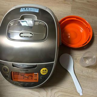 タイガー(TIGER)の炊飯器 タイガーIH炊飯ジャー jkt-v100 5.5合炊き tacook(炊飯器)