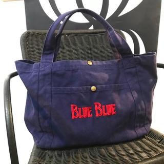 ブルーブルー(BLUE BLUE)の☆BLUE BLUEブルーブルー☆アンカーキャンバストートバック☆聖林公司(トートバッグ)