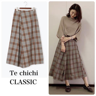 Techichi - チェックスカート ロングスカート テチチクラシック