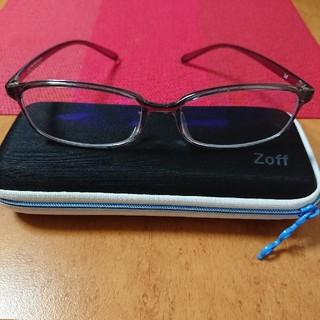 Zoff - ☆未使用☆ Zoff PCメガネ 度なし 50%カット