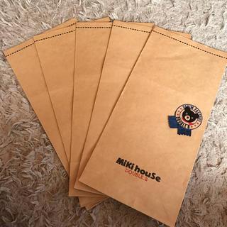 ミキハウス(mikihouse)のミキハウス ダブルB  紙袋(その他)