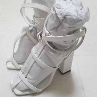 イエローブーツ(Yellow boots)の新品未使用Sサイズ (サンダル)