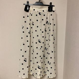 IENA - IENA seseシリーズ ドットスカート