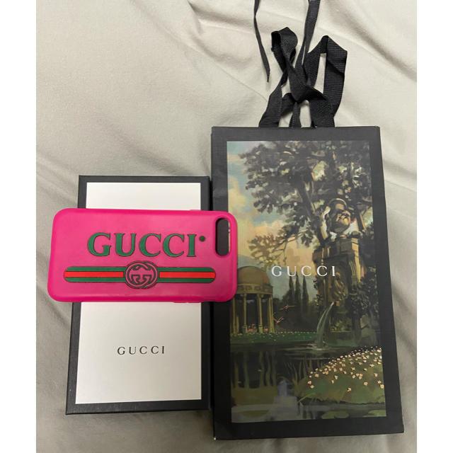 Lee iphone8 ケース - Gucci - GUCCI iPhoneケース iPhone 7plus/8plusの通販