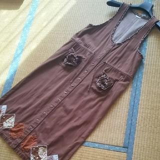PINK HOUSE - ジャンパースカート