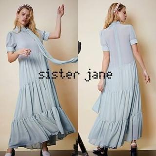 Sister Jane シスタージェーン ラップネックティアードマキシワンピース(ロングワンピース/マキシワンピース)
