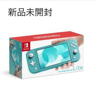 Nintendo Switch - 任天堂スイッチライト ターコイズブルー Nintendo Switch Lite