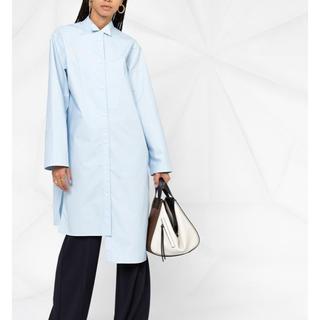 ロエベ(LOEWE)の新品 Loewe ロエベ アシンメトリー シャツ ドレス XS タグ付き(シャツ/ブラウス(長袖/七分))