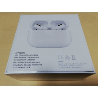 Apple MWP22J/A AirPods Pro(ヘッドフォン/イヤフォン)