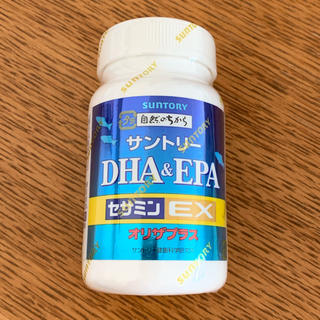 サントリー(サントリー)のサントリーセサミンEX DHA EPA オリザプラス120錠(その他)
