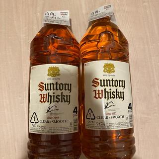 サントリー(サントリー)のサントリーウイスキー 白角 4.0L×2本(ウイスキー)