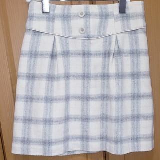 ロディスポット(LODISPOTTO)のチェック台形ミニスカート(ミニスカート)