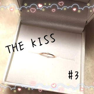 THE KISS - 【美品】THE KISS ザ キッス ピンキーリング k10ピンクゴールド #3