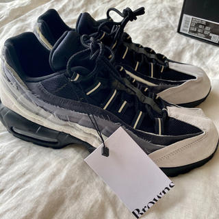 COMME des GARCONS HOMME PLUS - ギャルソン ナイキ garcons Nike air Max95 US12 グレ