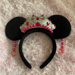 ミニーマウス - プリンセスデイズ ディズニーカチューシャ ミニー