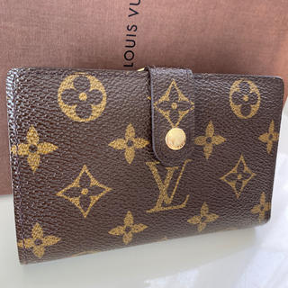 LOUIS VUITTON - 美品正規品ルイヴィトンガマ口 モノグラム 折財布