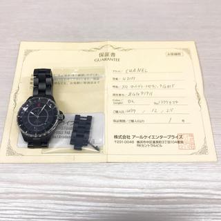 CHANEL - CHANEL J12 GMT ブラック 美品 レア