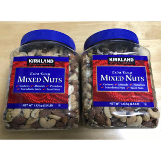 ミックスナッツ 2箱(乾物)