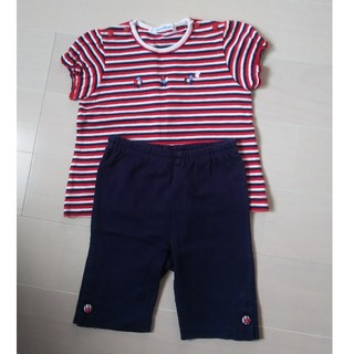 familiar - familiar Tシャツ・パンツセット80