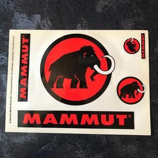 マムート(Mammut)のマムート  ステッカー(シール)(その他)