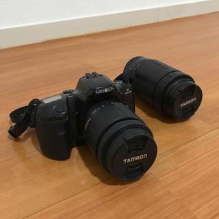 KONICA MINOLTA - ミノルタ α303si・フイルムカメラ タムロン レンズ2本セット