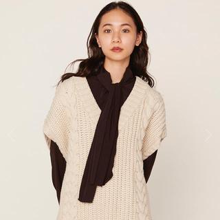 エディットフォールル(EDIT.FOR LULU)のVolume knit vest🤎(ベスト/ジレ)