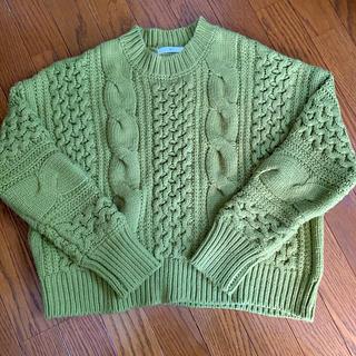 SLY - 新品未使用!期間限定大幅値下げ!SLY☆ピスタチオセーター