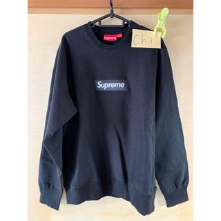 Supreme - Supreme 18AW CrewNeck ブラック Mサイズ