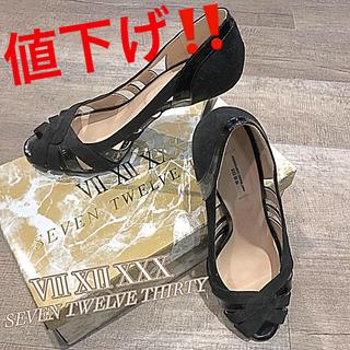 VII XII XXX - 【SEVEN TWELVE THIRTY】37size  24.5cm