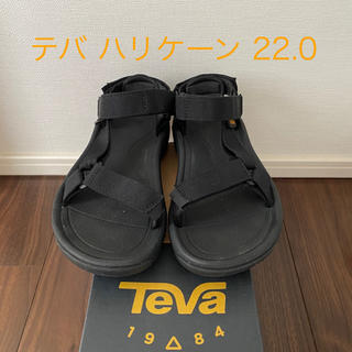 Teva - テバ Teva ハリケーン 5サイズ ブラック