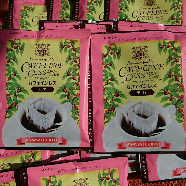 10袋+オマケ1袋、澤井カフェインレスドリップバッグ、加藤珈琲カフェインレス 食品/飲料/酒の飲料(コーヒー)の商品写真
