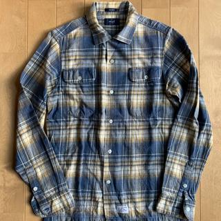 ダブルタップス(W)taps)のWtaps チェックシャツ Sサイズ(シャツ/ブラウス(長袖/七分))