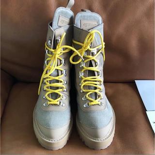 オフホワイト(OFF-WHITE)の日本未入荷Off-white ハイキングブーツ 新品未使用42(レインブーツ/長靴)