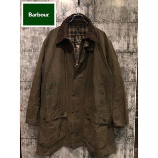 バーブァー(Barbour)のBarbour バブアー オイルドジャケット BORDER ボーダー セージ(ミリタリージャケット)