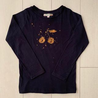 Bonpoint - Bonpoint ボンポワン さくらんぼ チェリー Tシャツ 6A
