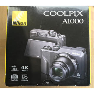 Nikon - Nikon デジタルカメラ COOLPIX A1000 ブラック 新品