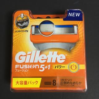 ジレ(gilet)のジレット フュージョン 5+1 パワー 替刃8個入り×2個(カミソリ)