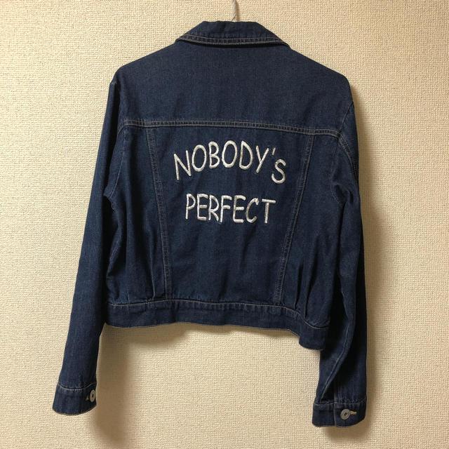 merry jenny(メリージェニー)のデニムジャケット レディースのジャケット/アウター(Gジャン/デニムジャケット)の商品写真