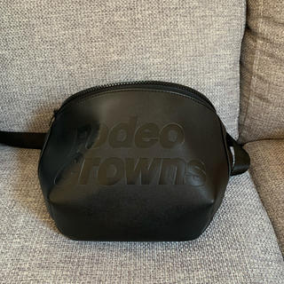 RODEO CROWNS - ロデオクラウンズ ウエストポーチ ボディバッグ 黒
