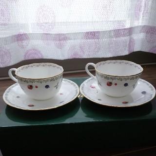ノリタケ(Noritake)のティーカップセット(グラス/カップ)