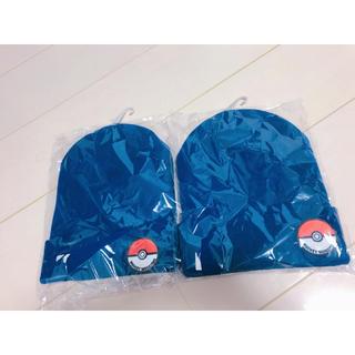 ポケモン(ポケモン)のポケモンニット帽セット(帽子)