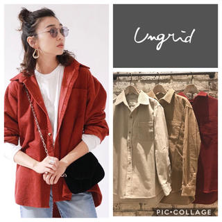 Ungrid - Ungrid**コーデュロイビッグシャツ