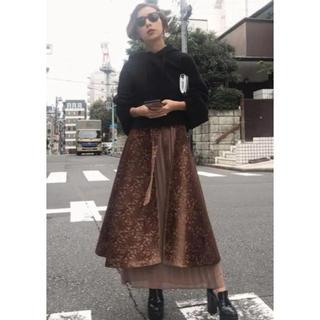 Ameri VINTAGE - Ameri vintage アラベスクレイヤードスカート